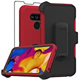 Stroson Compatible with LG V40 ThinQ Case, LG V40 Case, with Screen Protector...