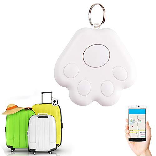 MIGDT rastreador Inteligente GPS para Mascotas Mini Rastreador Localizador Bluetooth Resistente Al Agua Anti-pérdida para Mascotas, Perros, Gatos, Accesorios para El Cuello, Alarmas Bluetooth,Null,en