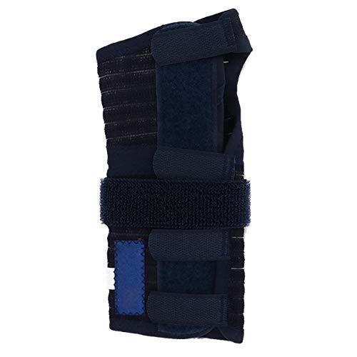 Protección correctora de chapa de acero transpirable Banda protectora de sujeción de muñeca contra esguince artritis, dolor articular [XL1], sujeción de muñeca muñeca manos y articulacionesBrazos, ma