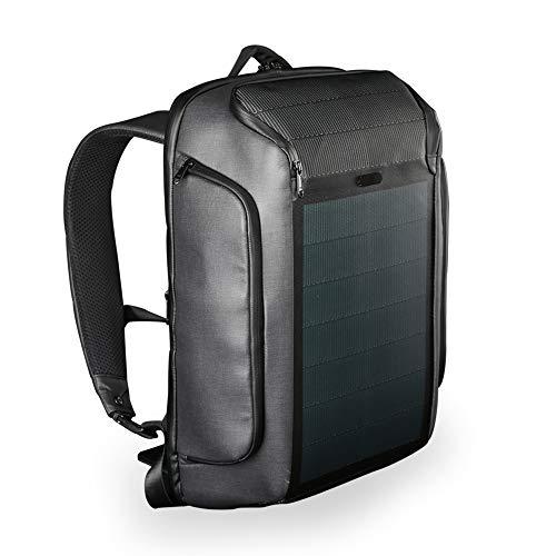 Kingsons Beam Backpack - Der Modernste Solar Power Rucksack - Wasserdichte, Diebstahlsichere Laptoptasche
