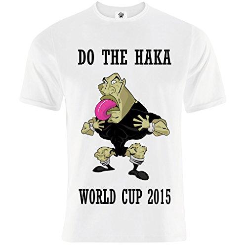 Endlessfugitive Rugby Haka All Blacks - Blanc - Moyen