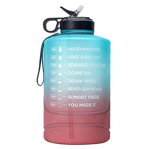 Wenxu 3,78 Liter Wasserflasche, Gradient...