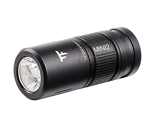 TrustFire MINI2 220 Lumens Keychain EDC Flashlights Mini USB Rechargeable Flash Light with 10180 Lithium Battery Small Perfect for Camping, Hiking, Hunting, Backpacking, Fishing and BBQ
