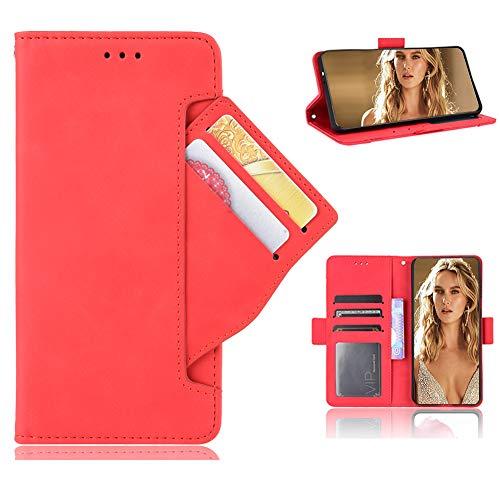 TIANYUE Handyhülle für Asus ROG Phone 5 Pro PU Lederhülle mit Zwei Sätze Kartenfächer, Schutzhülle mit Standfunktion, Hülle für Asus ROG Phone 5 Pro