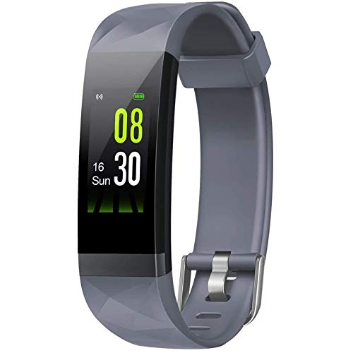 Letsfit Fitness Tracker HR, Activity Tracker Color Screen, Heart Rate Monitor,Sleep Monitor Step Counter, Calorie Counter, Pedometer IP68 Smartwatch for Kids Women Men