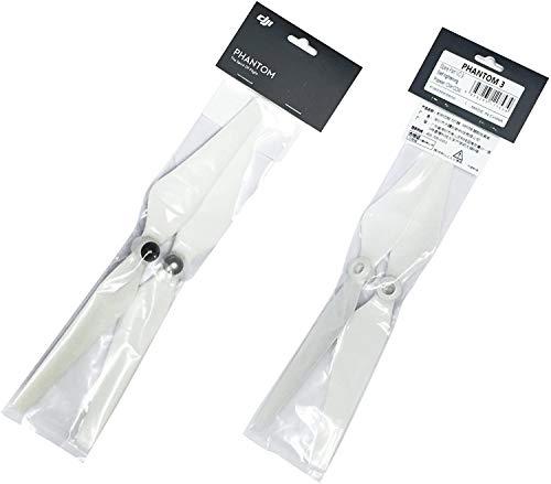 2 pares de hélices autoapertadas DJI de plástico genuíno 9450 para Phantom 3 OEM em embalagem transparente