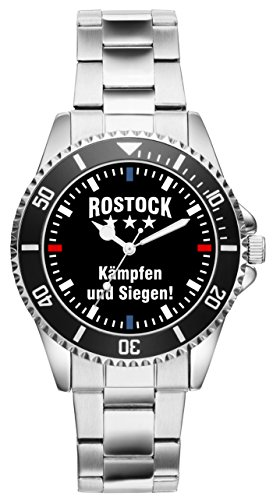 Rostock Geschenk Artikel Idee Fan Uhr 2340