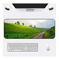拡張ゲーミングマウスパッド - 非スリップ耐水性ラバーベースコンピュータのキーボードマウスマット、ワーク&ゲームのための理想的なパートナー JCXOZ マウスパッド (Color : B, Size : 900x400x3mm)