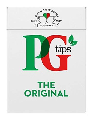 PG Tips Original Schwarzer Tee, 80 Teebeutel