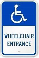 金属ティンサイン装飾鉄絵、車椅子入口警告、面白いティンサインバーパブガレージダイナーカフェ家の壁の装飾家の装飾アートポスターレトロヴィンテージ