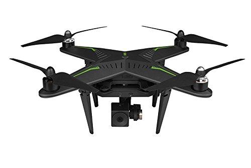 Xiro Xplorer Vision Drohne + Zusatzakku (Verfolgungsfunktion, Full HD Videos 1080p/30fps, 14 Mpx)