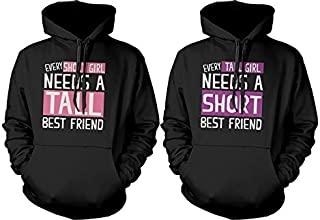 365 In Love BFF Accessories BFF Pullover Sweaters - Hoodies for Tall and Short Best Friends