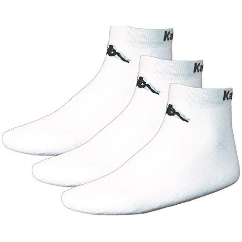 Kappa Herren Socken & Strümpfe Sahel 3, 3 er Pack Socken, white, 35-38