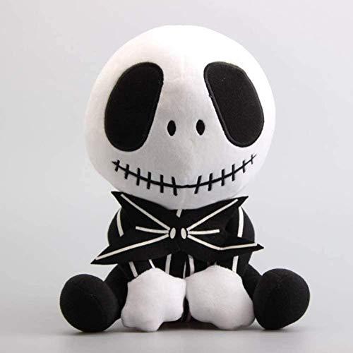 N/C Peluche deDibujos Animados 1128 Cm Sentado Jack Plush Doll Plush Sofá Cojín Almohadas Jack Skeleton Peluches de Peluche