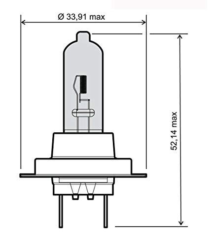 Ampoule h7 12 v/55 w