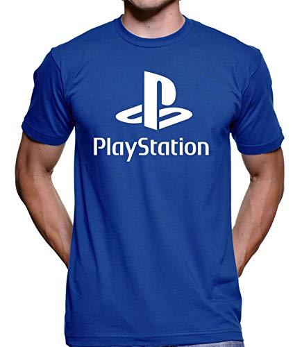 Camiseta Sony Playstation (Preto, GG)