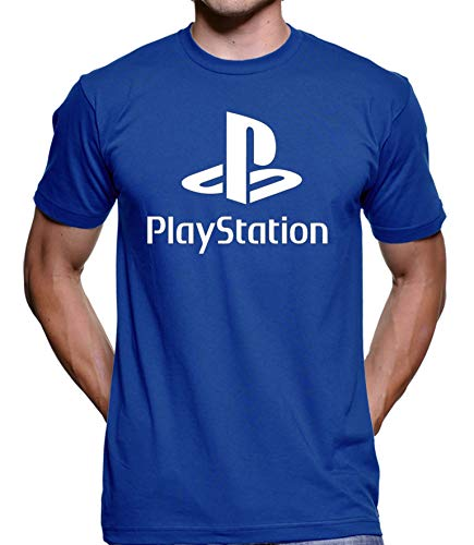 Camiseta Sony Playstation (Cinza Grafite, M)