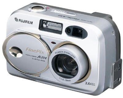 Fujifilm FinePix A204 Digitalkamera (2,0 Megapixel)