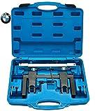 JOMAFA - Conjunto herramientas de sincronización para calado del motor y alineación del arbol de levas ompatible con motores BMW N51 N52 N53 N54 incluido VANOS