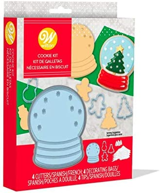 Wilton Cookie Globe Cookie Cutter Decorating Kit product image