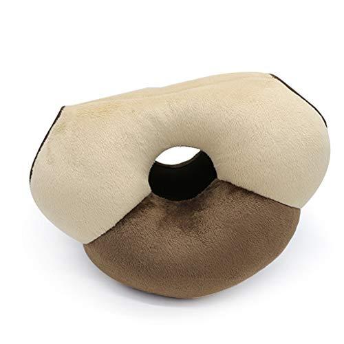 YULO Anti-coude siège Chaise Coussin Respirant Confortable Particules de Latex Belles Hanches améliorer Posture sciatique soulagement de la Douleur et de la Hanche façonnage,Jaune