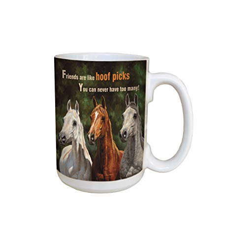 Tree Free Ceramic Lovely Mug 42.6cl (15oz) Hoof Picks