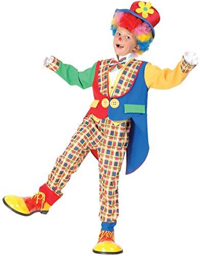 Rire Et Confetti - Fiaclo015 - Déguisement pour Enfant - Clown