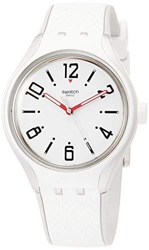 Swatch Reloj Analógico para Mujer de Cuarzo con Correa en Silicona YES1005