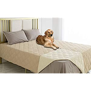 Ameritex Waterproof Dog Bed Cover Pet Blanket with Anti-Slip Back for Furniture Bed Couch Sofa