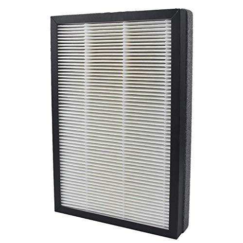 HEPA-filtersysteem voor luchtreiniger, het echte HEPA-filter en de actieve koolfilter samen 99,97% van het stof, pollen, rook.