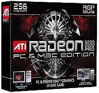 ATI 100–435060Radeon 9600PRO PCとMac Edition 256MB AGPビデオカード