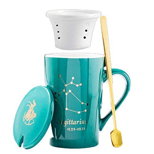 ZHIBUHC Tazas De Café De Cerámica, Tazas De Pareja, Tazas De Cerámica De Regalo Personalizadas, Tazas De Té De Malla, Jarras De Cerveza, Tazas De Agua para La Oficina Y El Hogar.