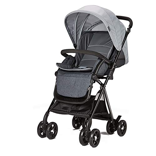 Why Should You Buy AMENZ Strollers Trolley Trolley Cot Twin Pushchair Fold Suspension can sit and Li...