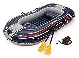 Bestway 255x127x41 cm, Schlauchboot Hydro-Force Raft Set-Juego de Botes hinchables (255 x 127 x 41 cm), Multicolor