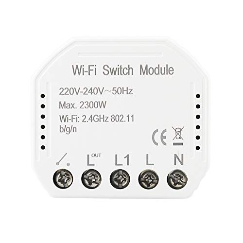 KKmoon Smart WiFi Switch Conmutador de Red Inteligente...