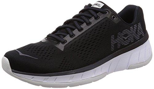 Price comparison product image HOKA ONE ONE Men's Cavu Running Shoe Black / White Size 9.5 M US