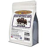 Chocolate Negro Puro 100% - Tipo Estándar (Pasta, Masa, Licor De Cacao 100%) - Bolsa 250g - Cacao Venezuela Delta