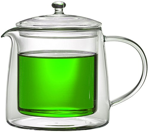 Teekanne 613482 Teekrug Karaffe Tee-Kanne Thermoglas 500 ml doppelwandig Modell Lenny für Heiß- und Kaltgetränke (500ml) - 4