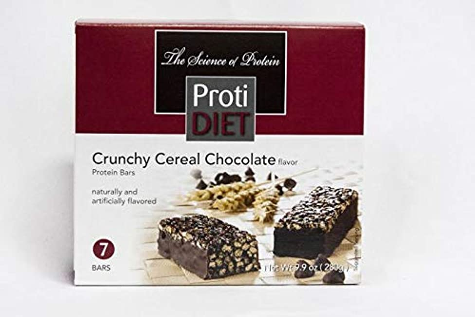 Ideal Protein Compatible ProtiDiet High Protein Crunchy Cereal Chocolate Bars