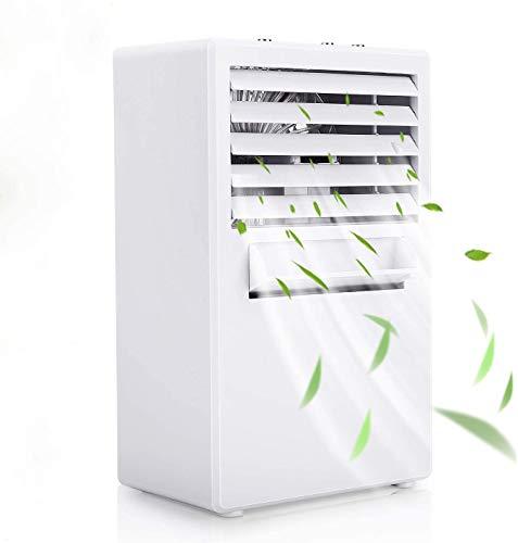 Winload Personal Space Air Cooler, Desktop Air Conditioner Fan, 3 In 1 Mini Air Cooler, 3 Speeds Portable Cooler Fan, Small Air Conditioner for Office Living Room Bedroom