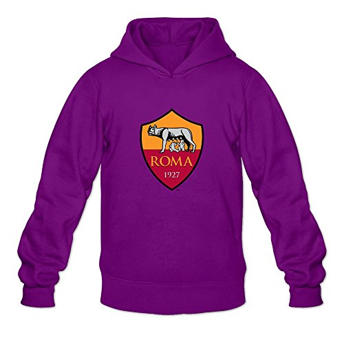 Men AS Roma Logo Custom Causal Size XXL Color Purple Sweatshirts By Mjensen