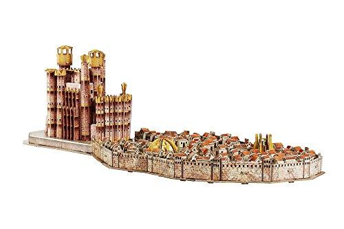 Juego de Tronos- Puzles Puzzle 4D Desembarco del Rey, Multicolor (Eleven Force S.L. 10032)