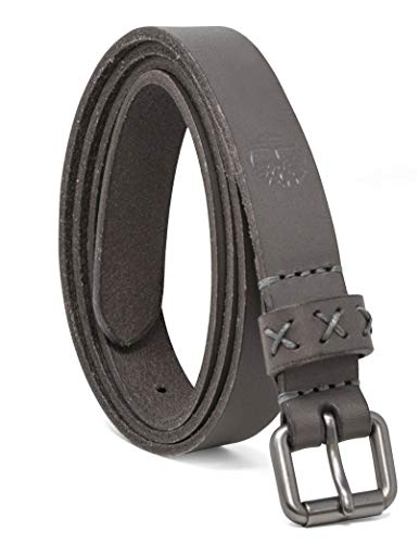 Timberland Women's Casual Leather Belt, Castlerock (Skinny), Large (33-37)