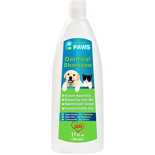 Particular Paws Oatmeal Shampoo for Dogs and Cats with Shea Butter,...