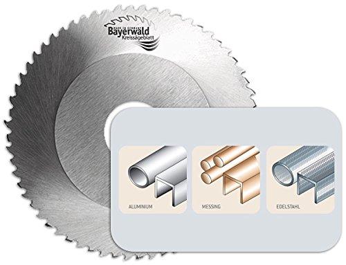 Bayerwald - HSS-E Kreissägeblatt - Ø 68 mm x 1,6 mm x 16 mm | Bogenwechselzahn (44 Zähne) | passend für GF Rohrsäge