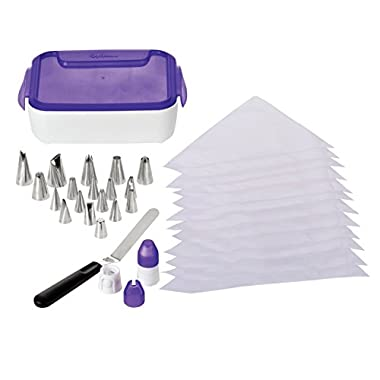 Wilton 46-Piece Deluxe Cake Decorating Set, Cake Decorating Supplies