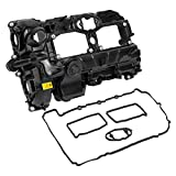 X AUTOHAUX 11127588412 Car Engine Valve Cover Replacement with Gasket for BMW 328I 428I 528I X3 X4