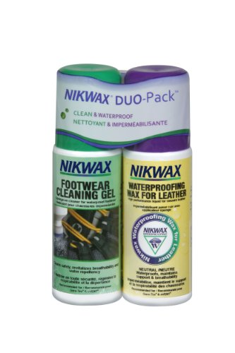 Nikwax Leather Footwear Cleaning and Waterproofing DUO Pack