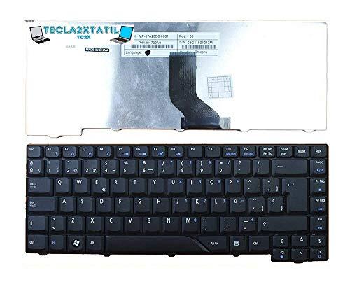 Teclado para PORTATIL Acer Aspire 5715Z 5715ZG Negro ESPAÑOL SP Keyboard Black