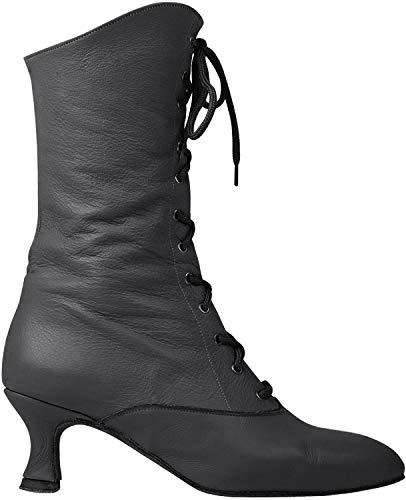 Rumpf 2316 Cancan Tanz Stiefel Dance Boot Theater Bühnen Schuhe Shoes Boots schwarz Größe EU 35/2.5 UK